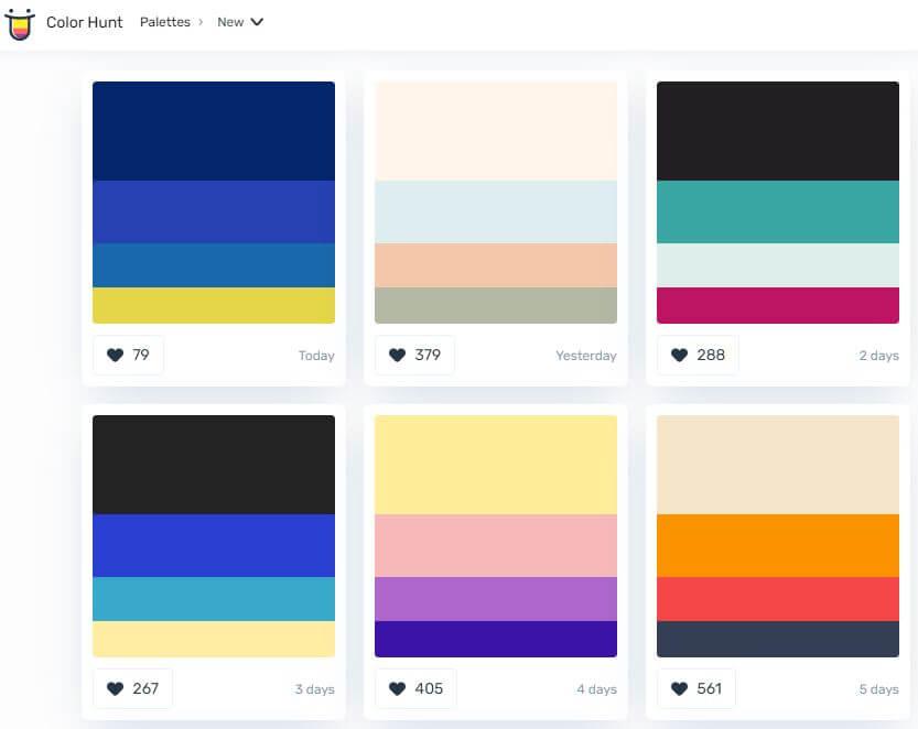 Color Combination Site 1
